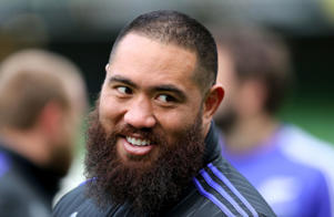 All Blacks prop Charlie Faumuina
