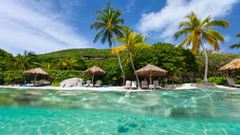 "<p>Who wouldn't want to <a href=""https://www.gobankingrates.com/personal-finance/beautiful-beaches-ridiculously-expensive/"">escape to one of the most beautiful beaches</a> in the world? When he's not traveling for work, the Virgin Group founder-- who is worth $5 billion, according to Forbes — heads to his private island in the British Virgin Islands.</p><p>Known for being a place where Branson and his celebrity friends can kick back and party, the island has hosted events ranging from Kate Moss's 40th birthday party to the wedding of Google co-founder Larry Page. Branson bought Necker Island for $180,000 decades ago and has since turned it into a resort.</p><p>The all-inclusive property features a main house and six smaller houses, as well as pools, on-site dining, tennis courts and a disco DJ. Nightly rates vary by season but run as low as $4,280 per couple. Additionally, up to 34 guests can reserve the entire island for $80,000 per night.</p>"