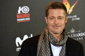 CALLAO CITY LIGHTS, MADRID, SPAIN - 2016/11/22: The American actor and producer William Bradley 'Brad' Pitt, attended the premiere of Allied at Callao City Lights cinema of Madrid. (Photo by Jorge Sanz/Pacific Press/LightRocket via Getty Images)