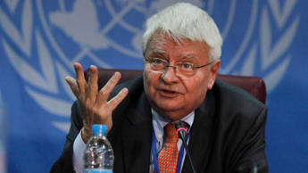 Canada's promise of 600 Armed Forces personnel and 150 police officers to UN peacekeeping missions 'hasn't materialized,' said Hervé Ladsous, the outgoing head of United Nations peacekeeping operations, seen earlier this week announcing the deployment of a regional protection force in Juba, South Sudan.