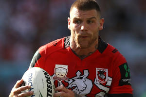 Josh Dugan was among NRL's biggest names to attend the meeting.