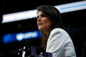 U.S. Ambassador to the United Nations NIkki Haley speaks to the American Israel Public Affairs Committee (AIPAC) policy conference in Washington, U.S., March 27, 2017.