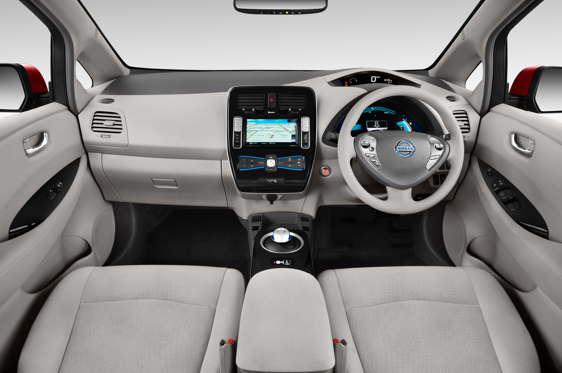 Slide 1 of 11: 2013 Nissan Leaf