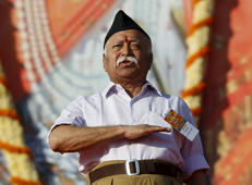 Chief of the Hindu nationalist organisation RSS