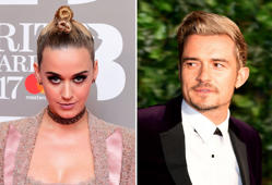 Katy Perry og Orlando Bloom