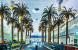 United Arab Emirates, Dubai . Dubai International Airport. The interior
