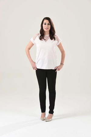 M&S top size 8, next jeans size 8 (Photo: Stan Kujawa/Sunday People)