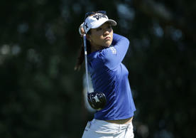 Lydia Ko in action during the ANA Inspiration tournament.