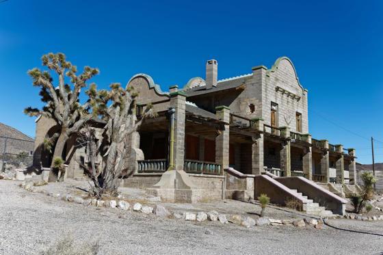 Slide 1 of 16: Rhyolite, Nevada