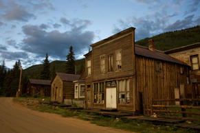 Ghost town, St Elmo, Colorado, USA, July 2008