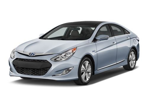 Slide 1 of 12: 2015 Hyundai Sonata Hybrid