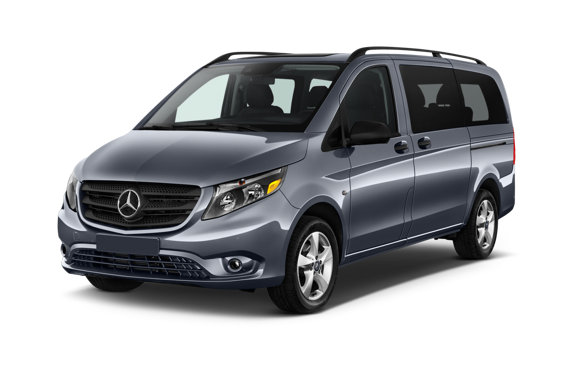 Slide 1 of 14: 2017 Mercedes-Benz Metris Passenger Van