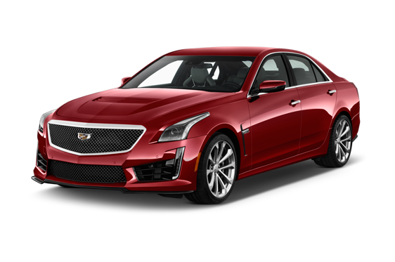 Slide 1 of 14: 2016 Cadillac CTS-V Sedan