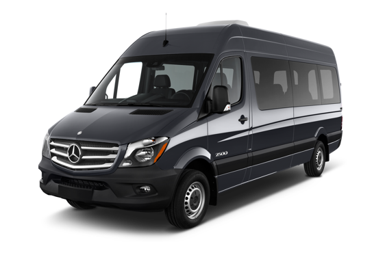 Slide 1 of 25: 2015 Mercedes-Benz Sprinter Passenger Van