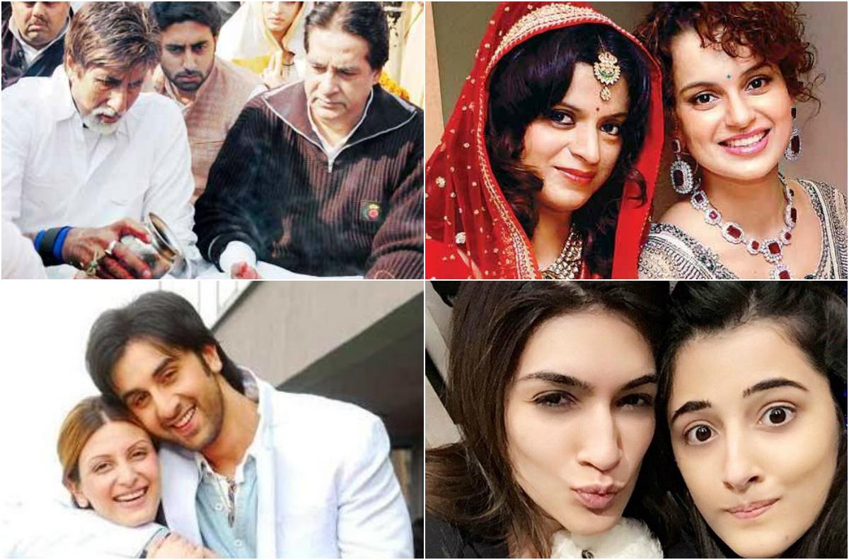 Top 10 Lesser Known Siblings Of Bollywood Celebrities ...