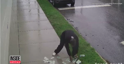 Alleged Robber Drops Money Fleeing Crime Scene and Takes a While to Pick