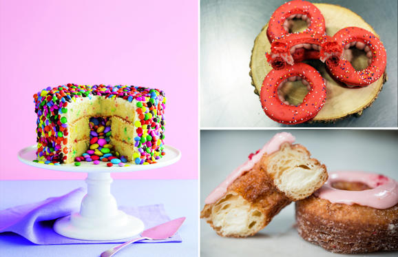"Slide 1 of 15: French pastry chef Dominique Ansel shook up the food world when he started selling the ""Cronut"" at his SoHo bakery in May 2013. Since then, the food connoisseurs have been trying various food hybrids. We put up the most famous pastry mashups for you. Take a look."