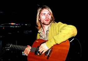 Nirvana leadman and grunge rocker commits suicide with a shotgun wound to the head in Seattle, Washington. His body was found on April 8.  http://www.onthisday.com/deaths/april/5  https://en.wikipedia.org/wiki/Kurt_Cobain#Death