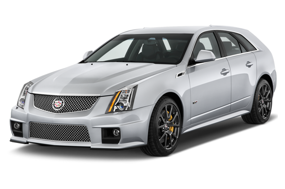 Slide 1 of 14: 2014 Cadillac CTS-V Sport Wagon
