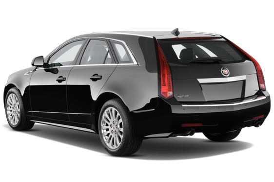 Slide 1 of 25: 2014 Cadillac CTS Sport Wagon
