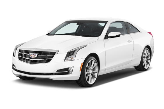Slide 1 of 14: 2015 Cadillac ATS Coupe