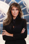 White House releases portrait of first lady Melania Trump