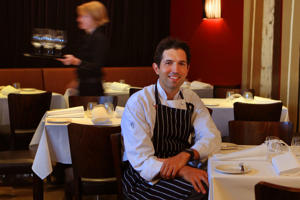 Chef Ben Shewry at his Attica restaurant in Melbourne.