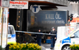 Police cordon off the truck which crashed into the Ahlens department store at Drottninggatan in central Stockholm, April 7, 2017. / AFP PHOTO / Jonathan NACKSTRAND / ALTERNATIVE CROP (Photo credit should read JONATHAN NACKSTRAND/AFP/Getty Images)