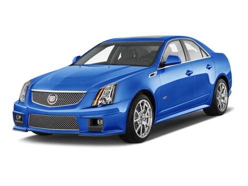 Slide 1 of 12: 2014 Cadillac CTS-V Sport Sedan
