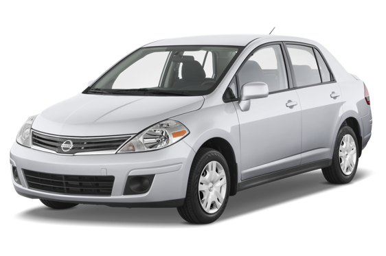 Slide 1 of 14: 2010 Nissan Versa Sedan