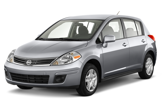 Slide 1 of 14: 2010 Nissan Versa Hatchback