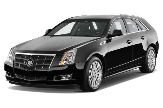 Slide 1 of 14: 2010 Cadillac CTS Sport Wagon