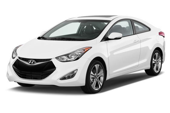 Slide 1 of 14: 2014 Hyundai Elantra Coupe
