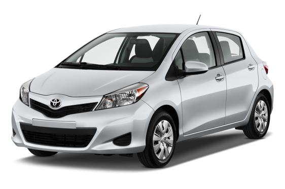 Slide 1 of 14: 2013 Toyota Yaris Hatchback
