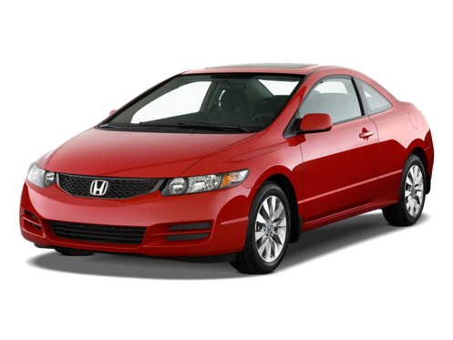 Slide 1 of 14: 2009 Honda Civic Coupe