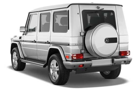 Slide 2 of 14: 2010 Mercedes-Benz G-Class
