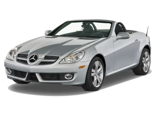 Slide 1 of 14: 2009 Mercedes-Benz SLK-class