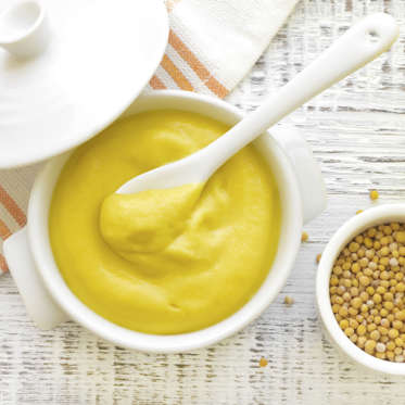 """Next time you're in line at the deli, Sass recommends opting for mustard on your sandwich instead of mayo or dressing. Mustard is extremely low in calories (there are a mere 3 in a small packet) as well as saturated fat.<br><br><b>RELATED: <a href=""""http://www.health.com/health/gallery/0,,20350502,00.html"""">13 Simple Sandwich and Wrap Recipes</a></b>"""