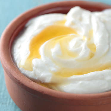 Greek yogurt is an extremely satiating breakfast or snack, thanks to its thick, creamy texture and a whopping 17 grams of protein (nearly three times more than is in an egg, in fact). A study from the journal Appetite found that people who ate a high-protein yogurt snack three hours after lunch felt fuller and ate dinner later than the other participants. And on top of that, other studies suggest that the acids produced during yogurt fermentation might help increase feelings of fullness.