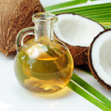 "Coconut oil is having a moment right now: it can be used as a butter or olive oil substitute in everything from baked goods to salad dressing, and can even be used as <a href=""http://news.health.com/2015/01/09/how-to-make-your-own-lattes-with-coconut-oil/"">an alternative to milk in lattes</a> (yes, really). Sass is a fan of the heart-healthy oil whipped into smoothies, and you can also use it to sauté veggies, sear fish, or as an olive oil replacement in soups and stews. (It's also a must-add to your beauty routine, and makes a wonderful natural moisturizer for skin and hair.)<br><br>Luckily, trendy coconut oil is also good for your waistline. Because it's a satisfying source of healthy fats, coconut oil fills you up quickly and helps you consume fewer overall calories. It also contains medium-chain triglycerides, which are easily digestible and quickly converted into energy.<br><br><b>RELATED: <a href=""http://www.health.com/health/gallery/0,,20855271,00.html"">10 Surprising Beauty Uses for Coconut Oil</a></b>"
