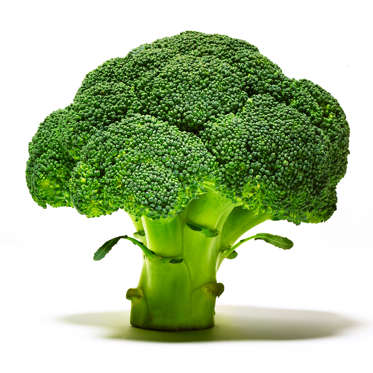 """A great source of calcium and important cancer-fighting compounds, broccoli also has loads of filling fiber and will set you back only 30 calories per serving. If eating this cruciferous veggie <a href=""""http://www.health.com/health/gallery/0,,20961588,00.html"""">makes you bloat</a>, try steaming it first, which makes it easier to digest while still preserving the cancer-fighting ingredients that could be lost when you boil or cook it in the microwave.<br><br><b>RELATED: <a href=""""http://www.health.com/health/gallery/0,,20831770,00.html"""">13 Veggies You Only Think You Don't Like</a></b>"""