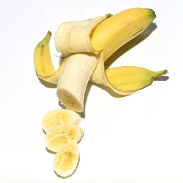 """Although they're best known for containing potassium, bananas are also a great source of <a href=""""http://www.health.com/health/gallery/0,,20361484,00.html"""">resistant starch</a>, a type of starch that's important for weight loss. Your body digests resistant starch slowly--helping you feel full for longer--while simultaneously encouraging your liver to switch to fat-burning mode. And no need to wait for them to become completely ripe; bananas actually contain more of this calorie-torching ingredient when they're still a little green.<br><br>Even more reasons to add a bunch to your shopping cart: Bananas can help regulate blood pressure, ease digestive problems, replenish nutrients after a workout, and may even help prevent strokes in older women."""