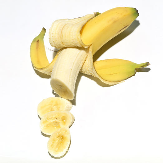 "Although they're best known for containing potassium, bananas are also a great source of <a href=""http://www.health.com/health/gallery/0,,20361484,00.html"">resistant starch</a>, a type of starch that's important for weight loss. Your body digests resistant starch slowly--helping you feel full for longer--while simultaneously encouraging your liver to switch to fat-burning mode. And no need to wait for them to become completely ripe; bananas actually contain more of this calorie-torching ingredient when they're still a little green.<br><br>Even more reasons to add a bunch to your shopping cart: Bananas can help regulate blood pressure, ease digestive problems, replenish nutrients after a workout, and may even help prevent strokes in older women."