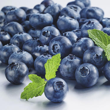 One cup of antioxidant-rich blueberries contains just 80 calories and 4 grams of fiber, which helps your body feel full for longer. They're also a good source of manganese, which can speed up metabolism and make you feel energized.<br><br>More reasons to love them: blueberries contain a compound that attacks cancer-causing free radicals, and research suggests they may also help ward off UTIs, keep skin bright, and reduce age-related memory loss.