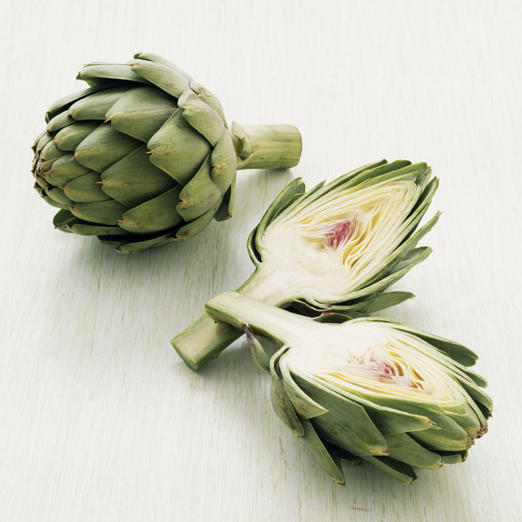Artichokes are incredibly filling--in fact, they are one of the highest-fiber vegetables, says Sass. A single boiled artichoke contains a whopping 10.3 grams of fiber--almost half the recommended daily amount for women. To curb your appetite before a meal, Sass suggests enjoying the veggie as a pre-dinner appetizer: try them in a refreshing salad with edamame and asparagus, or make homemade salsa with artichoke hearts, tomatoes, olives, and red onions.