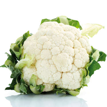 """Cauliflower is an especially low-calorie vegetable--just 25 calories per cup. It's also packed with filling fiber and good-for-you nutrients like potassium and vitamins C, K, and B6.<br><br>Like its cruciferous cousin broccoli, raw cauliflower can cause bloating, but steaming can make it easier to digest. Try steaming then blending the veggie to give it a mashed potato-like texture, pureeing it into soup, or making <a href=""""http://news.health.com/2016/01/04/cutting-carbs-heres-how-to-make-cauliflower-rice-in-under-10-minutes/"""">cauliflower 'rice'</a> by pulsing florets in a food processor before heating them in a wok."""