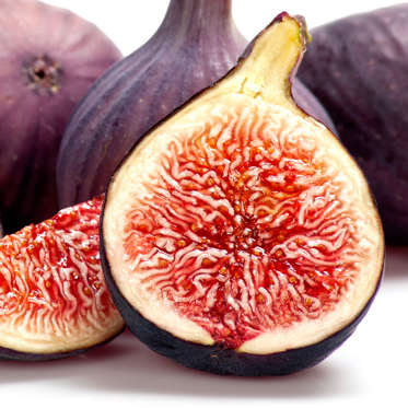 Craving something sweet? Instead of fattening cookies or cake, reach for fresh figs. Thanks to their dense consistency and high amount of filling fiber, they can slow the release of sugar into your blood. Pair with ricotta cheese, melons, and prosciutto to make a satisfying fruit salad, or use as a topping on whole-wheat pizza with crumbled feta and walnuts.