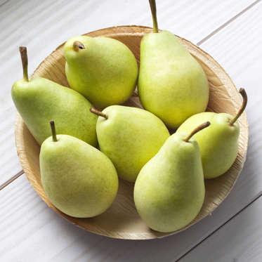 """Like apples, pears are a great source of antioxidants and fiber (just one contains 15% of your daily recommended amount). According to one study, women who ate three pears a day consumed fewer overall calories and lost more weight than those who did not.<br><br><b>RELATED: <a href=""""http://www.health.com/health/gallery/0,,20406798,00.html"""">The Best Fat-Burning Breakfasts</a></b>"""