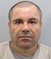 "In this file photo provided by Mexico's attorney general, shows the most recent image of drug lord Joaquin ""El Chapo"" Guzman before he escaped from the Altiplano maximum security prison in Almoloya, west of Mexico City, Sunday, July 12, 2015. Mexican President Enrique Pena Nieto posted on his Twitter account, Friday, Jan. 8, 2016, that drug lord Joaquin 'Chapo' Guzman has been recaptured."