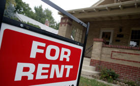 Rents are rising at the fastest pace in almost two years